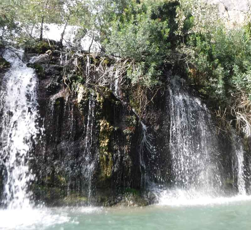 Cañón-de-Almadenes-Cascada